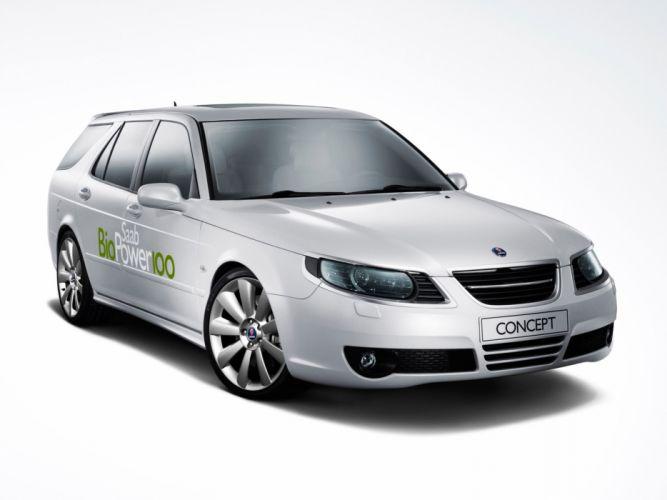 2007 Saab BioPower 100 Concept stationwagon wallpaper