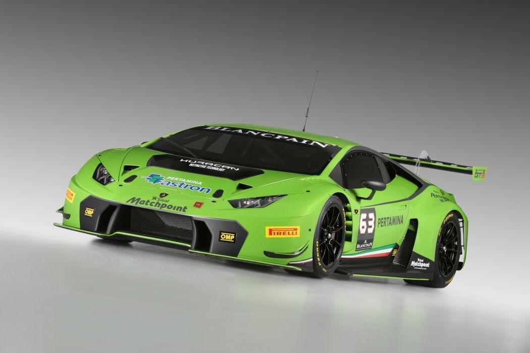 2015 Lamborghini Huracan GT3 race racing supercar wallpaper