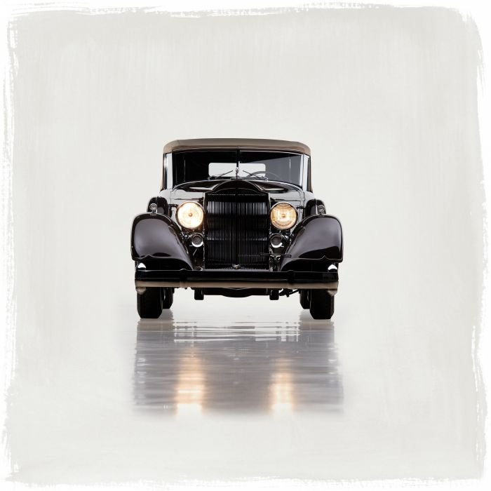 1934 Packard Twelve Convertible Sedan Dietrich 1108-4070 luxury retro wallpaper