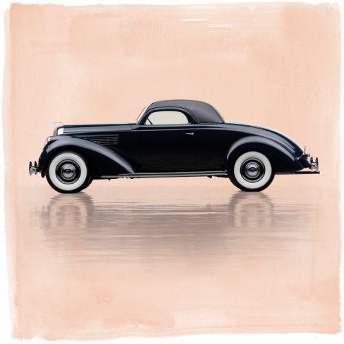 1938 Lincoln Model-K Coupe LeBaron 412 retro wallpaper