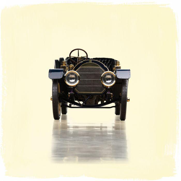 1910 Pierce Arrow Model-48 Miniature Tonneau retro vintage wallpaper