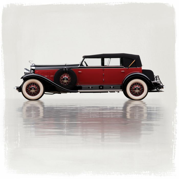 1930 Cadillac V16 452 All-Weather Phaeton Murphy luxury retro vintage wallpaper