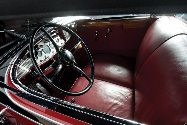 1930 Cadillac V16 452 All-Weather Phaeton Murphy luxury retro vintage wallpaper