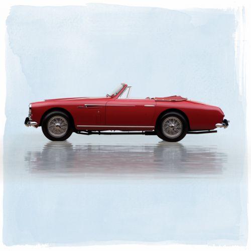 1953 Aston Martin DB24 Drophead Coupe LML504 supercar retro vintage wallpaper