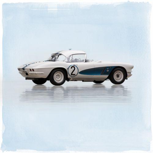 1962 Chevrolet Corvette Fuel Injection Le-Mans C-1 race racing muscle hot rod rods classic supercar lemans wallpaper