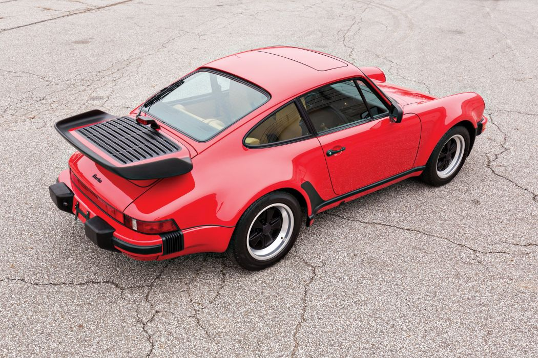 1987-89 Porsche 911 Turbo 3-3 Coupe US-spec 930 supercar wallpaper