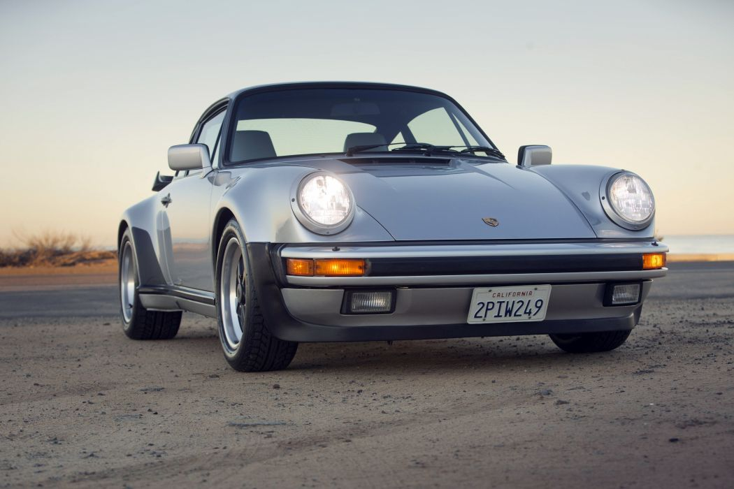 1987-89 Porsche 911 Turbo 3-3 Coupe US-spec 930 supercar wallpaper