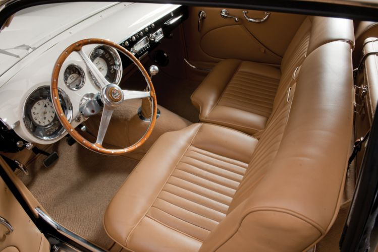 1953 Cunningham C-3 Continental Coupe luxury retro vintage wallpaper