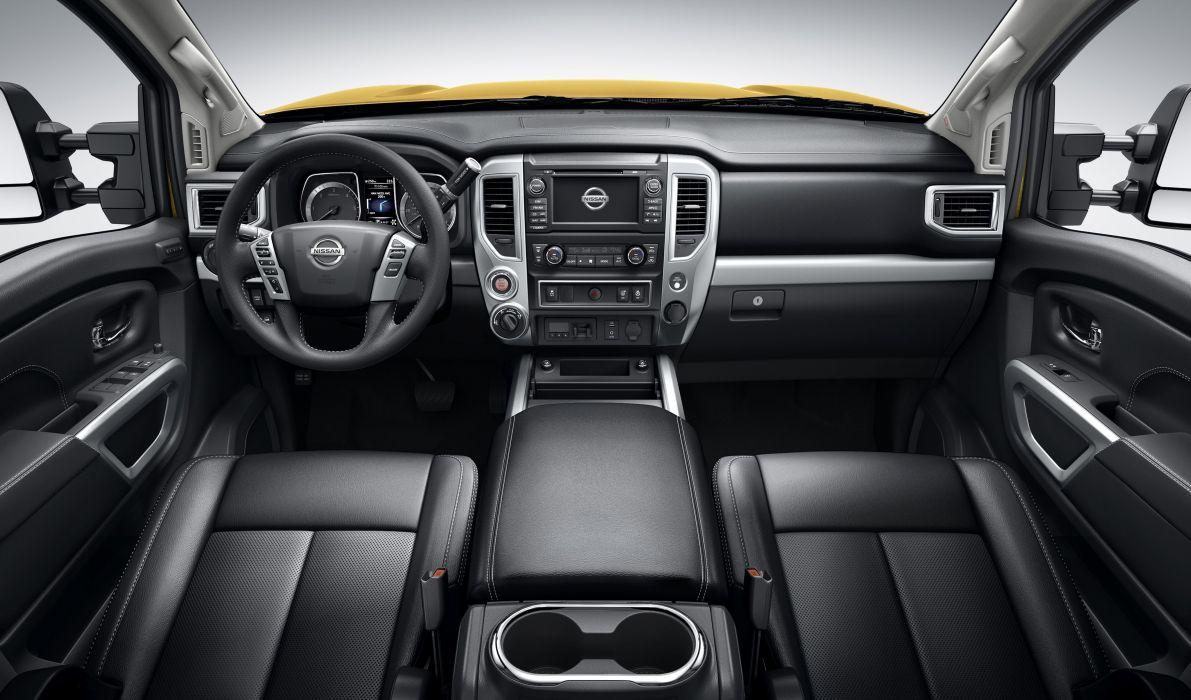 2016 Nissan Titan Crew Cab X-D PRO4X 4x4 pickup wallpaper