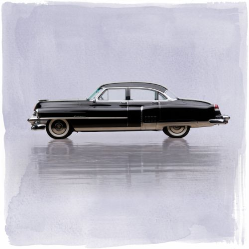 1953 Cadillac Fleetwood Sixty Special 6019X luxury retro vintage wallpaper