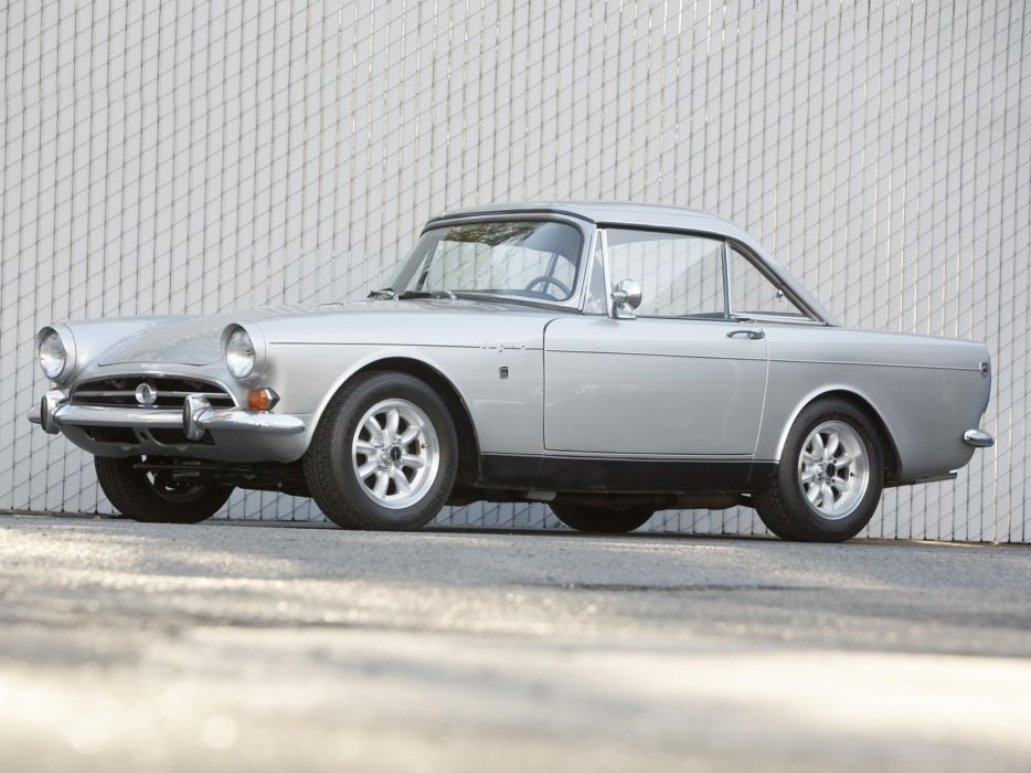 1964-67 Sunbeam Tiger US-spec classic convertible wallpaper