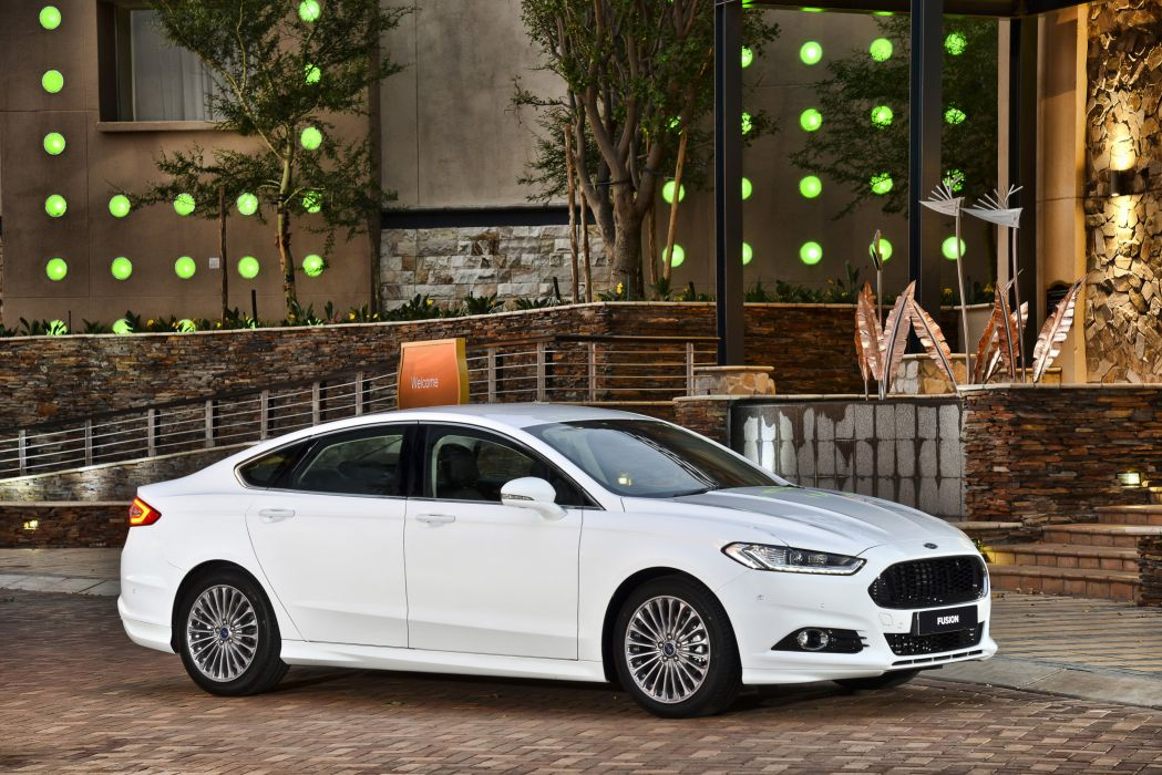 2015 Ford Fusion Titanium ZA-spec wallpaper