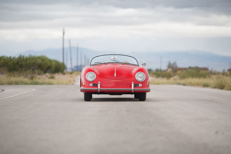 1959 Porsche 356A 1600 Speedster T-2 retro vintage wallpaper