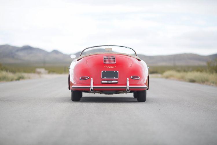 1959 Porsche 356A 1600 Speedster T-2 retro vintage wallpaper