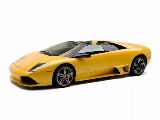 2006-10 Lamborghini Murcielago LP640 Roadster US-spec supercar wallpaper