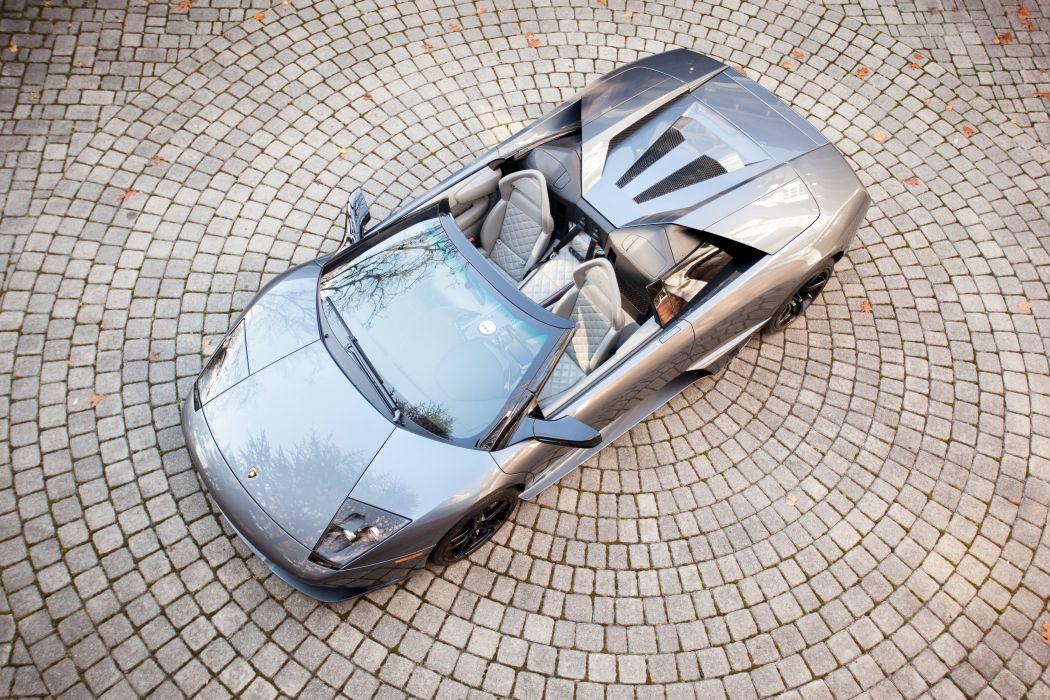 2006-10 Lamborghini Murcielago LP640 Roadster US-spec supercar wallpaper