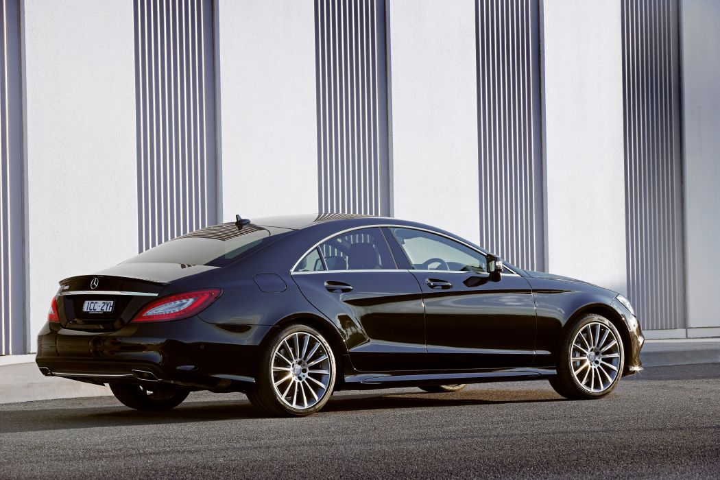 2015 Mercedes Benz CLS 500 AMG Sports-Package AU-spec C218 luxury wallpaper