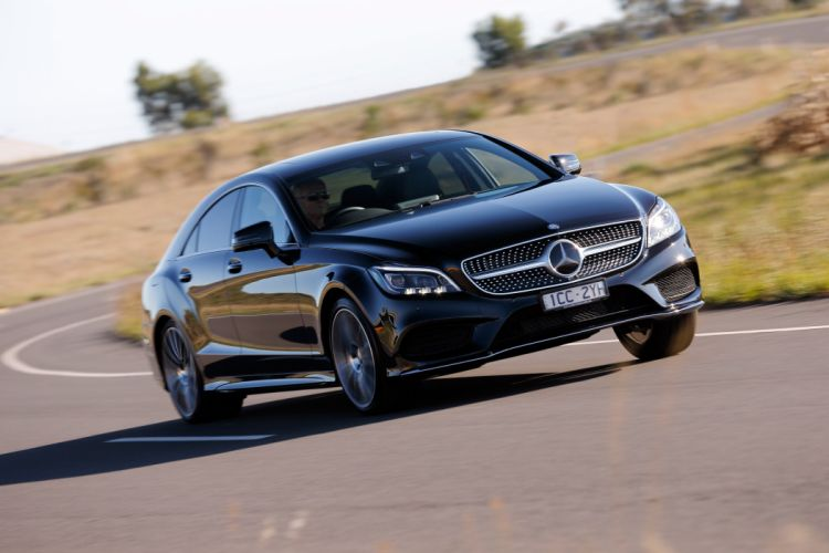 2015 Mercedes Benz CLS 500 AMG Sports-Package AU-spec C218 luxury wallpaper