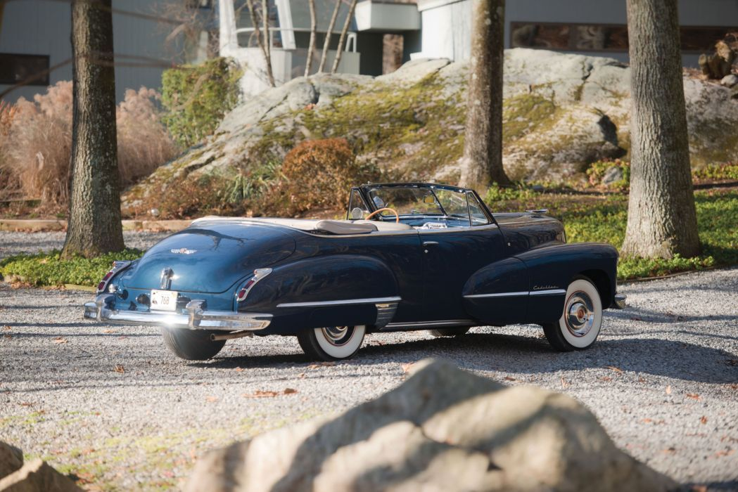 1947 Cadillac Sixty Two Convertible 6267 luxury retro vintage wallpaper