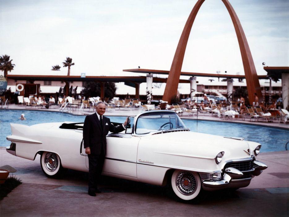 1955 Cadillac Eldorado 6267SX luxury retro vintage convertible wallpaper