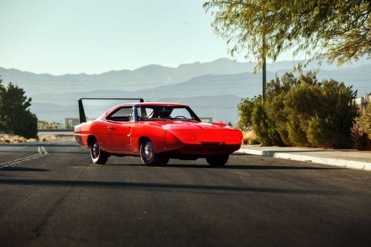 1969 Dodge Charger Daytona 426 Hemi muscle classic wallpaper