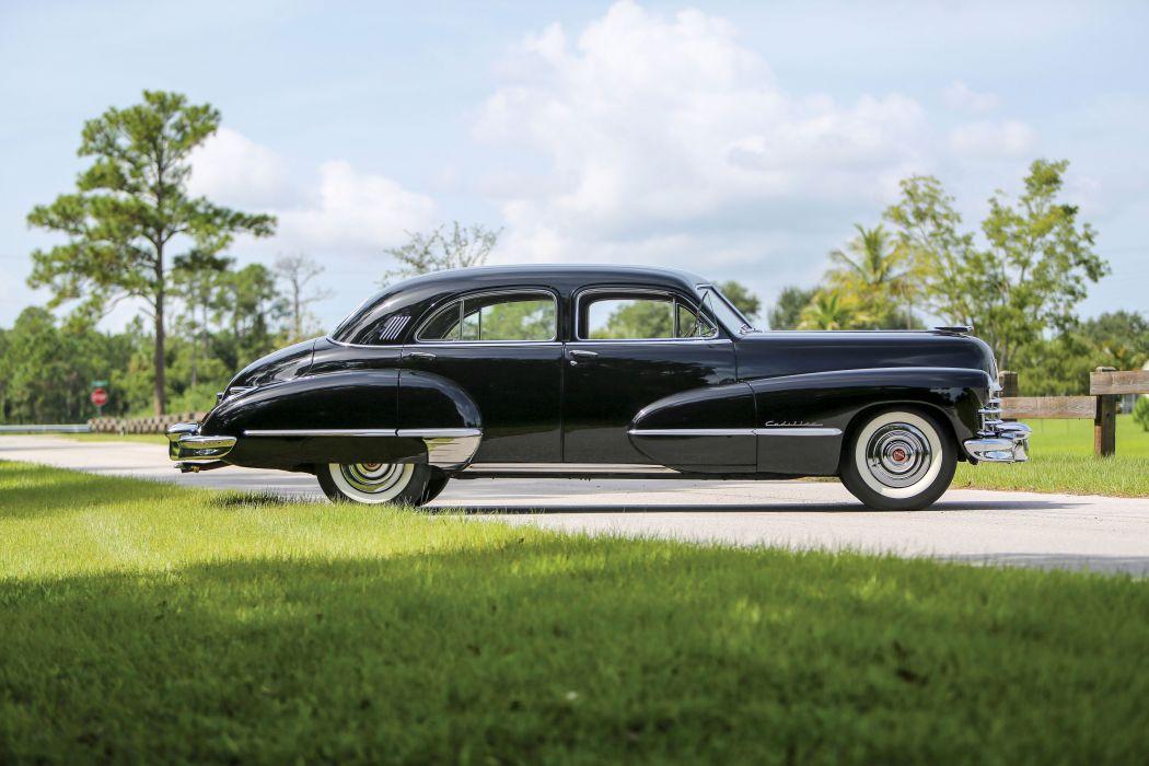 1947 Cadillac Sixty Special Fleetwood Sedan 6069 retro luxury vintage wallpaper