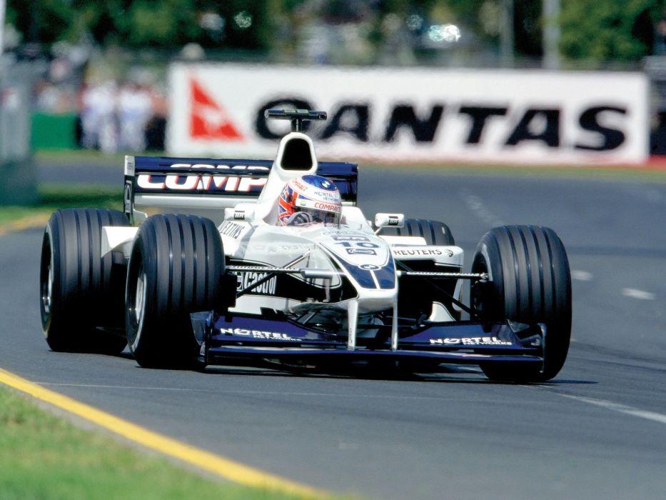 2000 BMW Williams FW22 F-1 formula race racing wallpaper