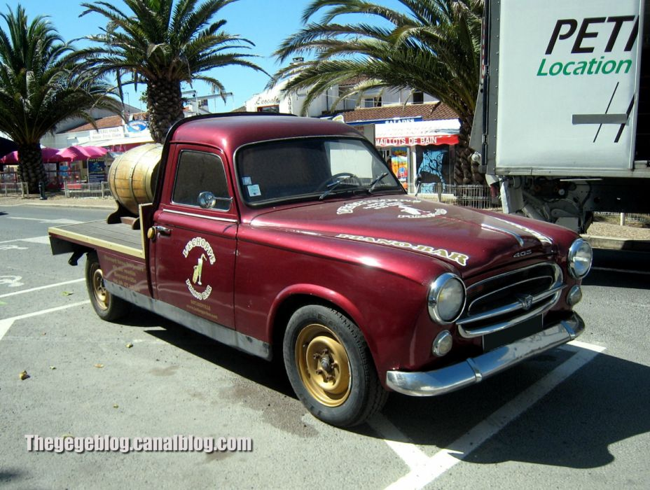 PEUGEOT 403 classic cars french pickup wallpaper