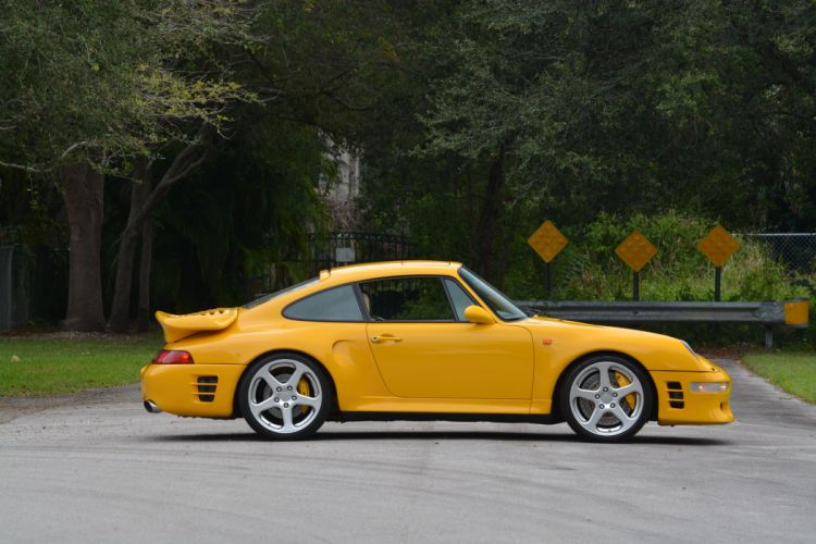 1997 Ruf Porshe R Turbo 993 tuning supercar wallpaper