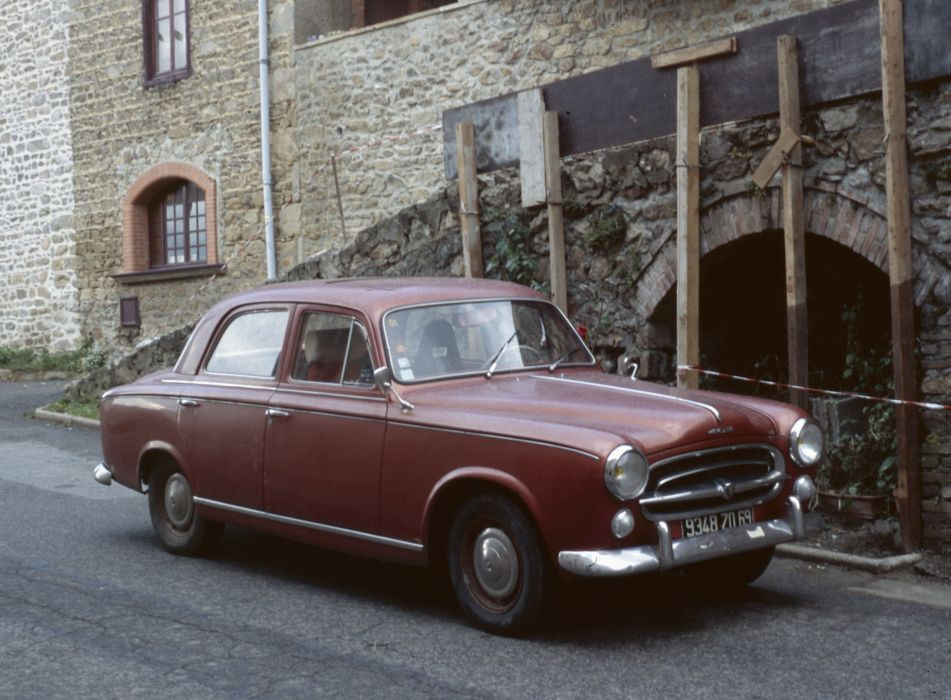 PEUGEOT 403 classic cars french sedan wallpaper