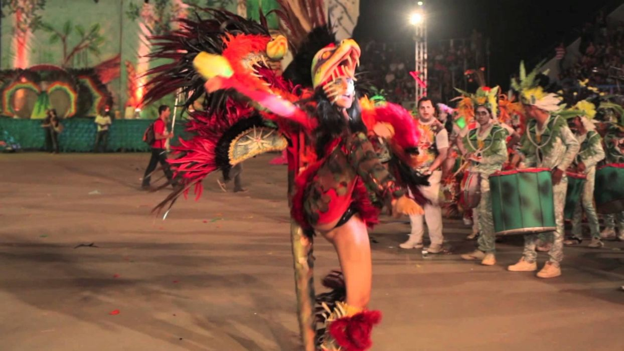 FESTIVAL - parintins Brazil folklore Cunhaporanga girl sensuality dance wallpaper