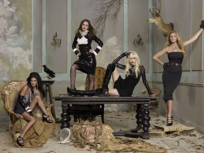 SERIES - gossip girls TV sensuality wallpaper