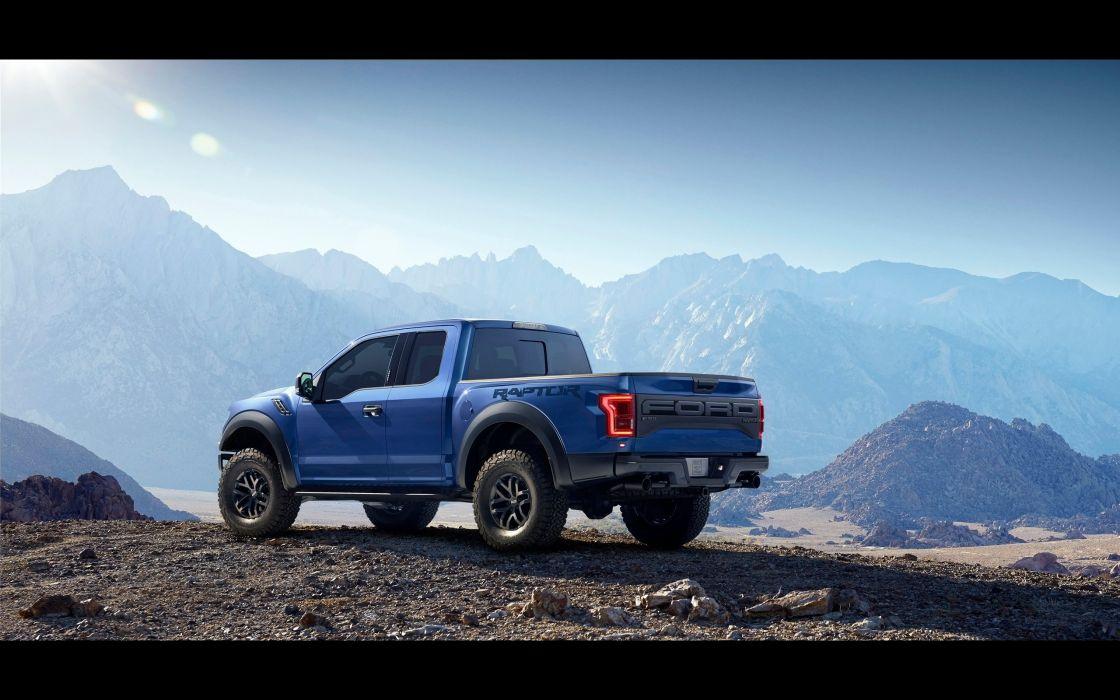 2017 Ford F-150 Raptor muscle pickup f150 awd wallpaper