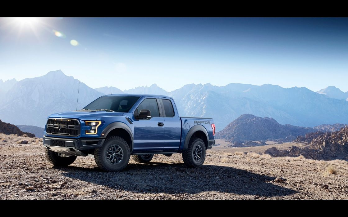 2017 Ford F-150 Raptor muscle pickup f150 awd wallpaper