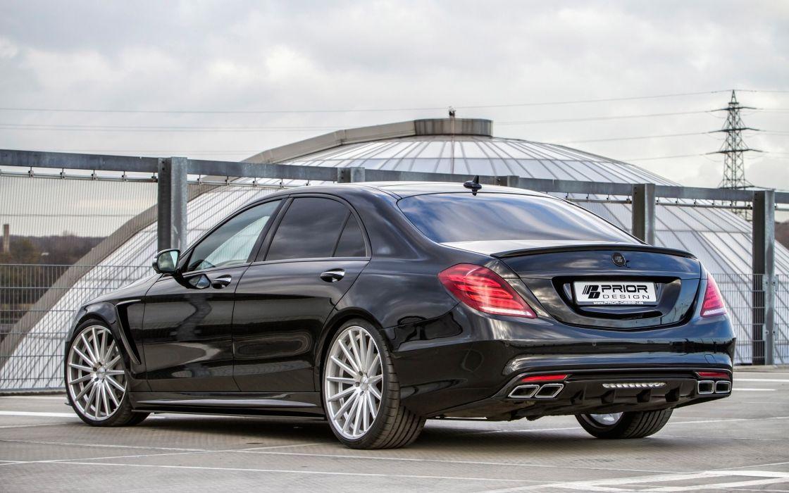 2014 Prior-Design Mercedes Benz S-Class PD800S tuning luxury wallpaper