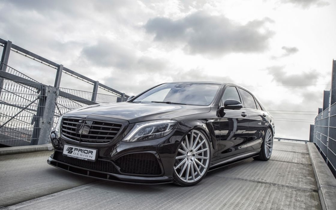 2014 Prior-Design Mercedes Benz S-Class PD800S tuning luxury wallpaper