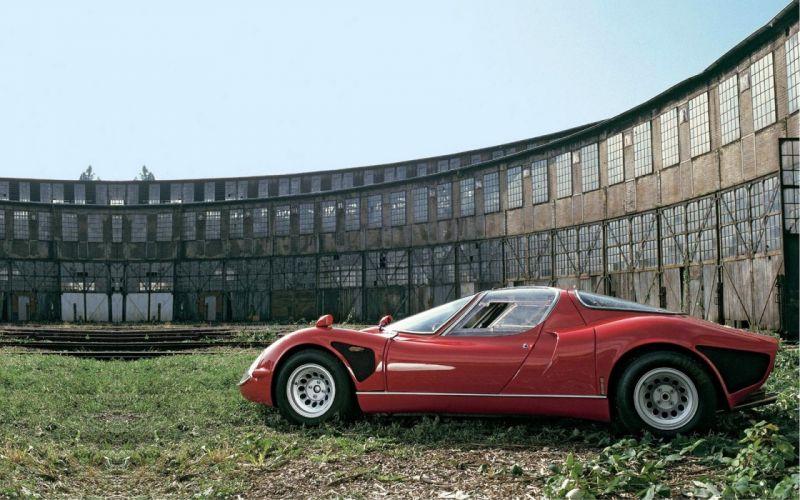 1968 Alfa Romeo Tipo-33 Stradale supercar classic tipo wallpaper