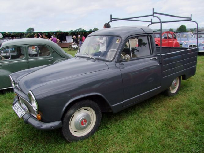 Simca aronde classic french cars pickup wallpaper