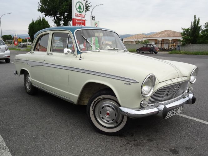 Simca aronde classic french cars sedan wallpaper