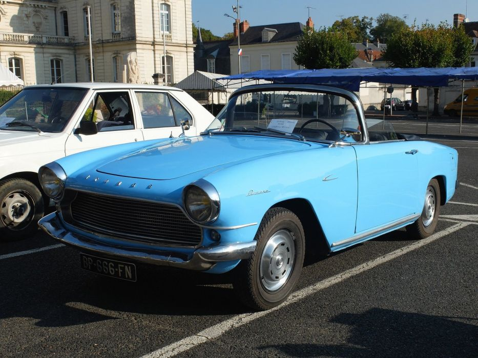 Simca aronde classic french cars oceane convertible cabriolet wallpaper
