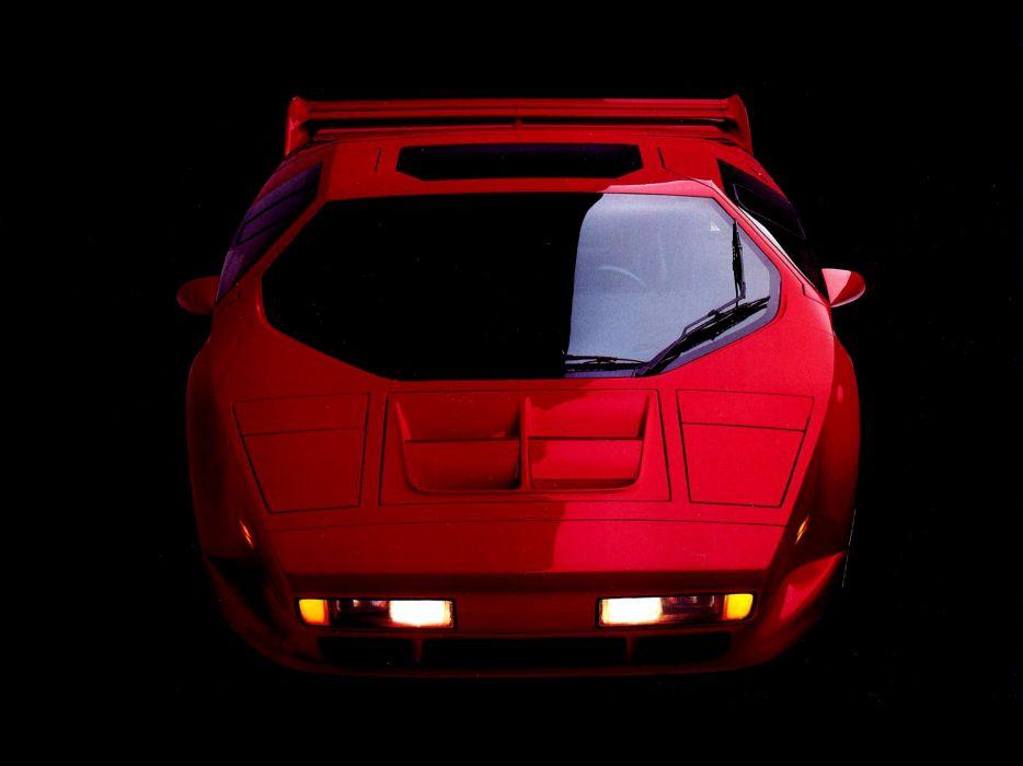 1990 Vector W-8 supercar wallpaper