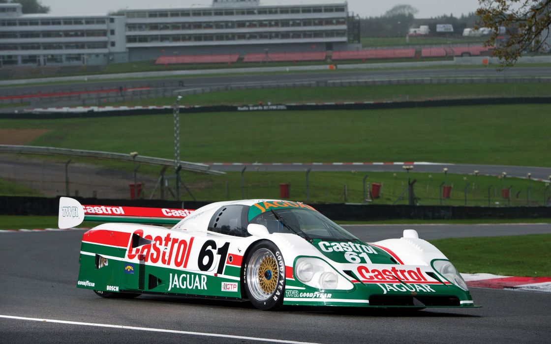 1988 Jaguar XJR-9 Castrol le-mans race racing lemans wallpaper