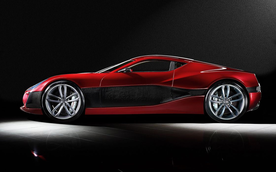 2011 Rimac Concept One supercar wallpaper
