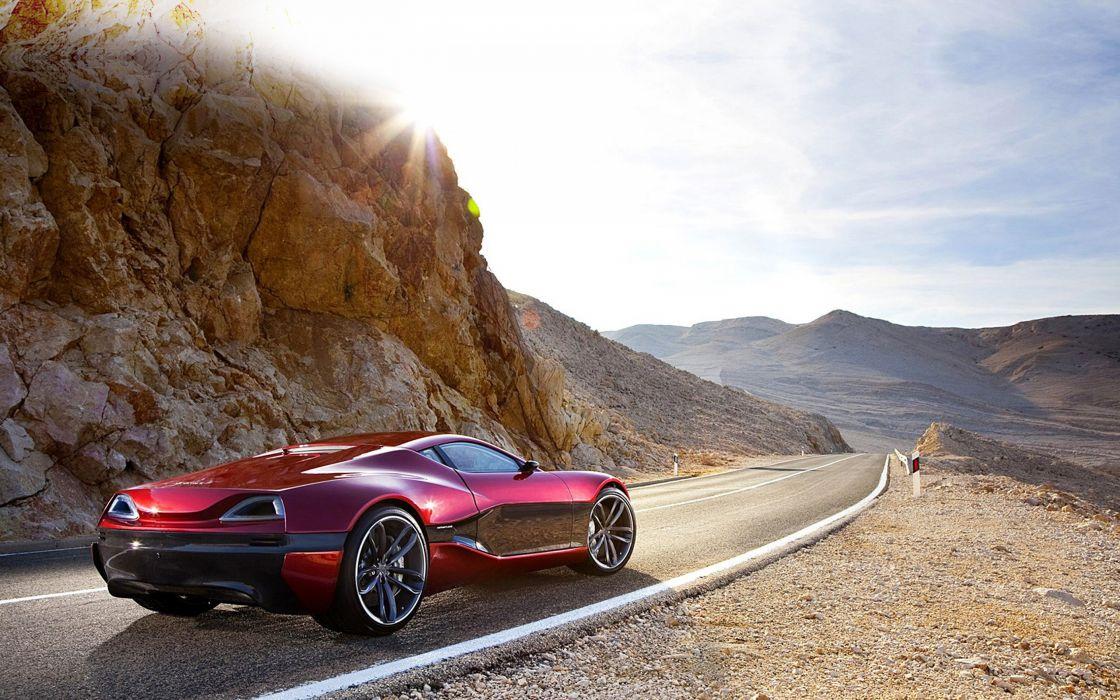 2011 Rimac Concept One supercar wallpaper