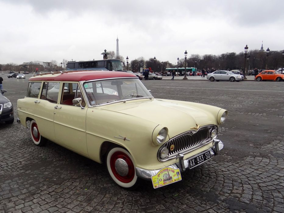 simca cars classic cars sedan french marly wagon wallpaper