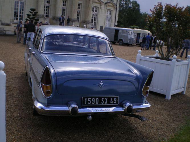 simca cars classic cars sedan french chambort wallpaper