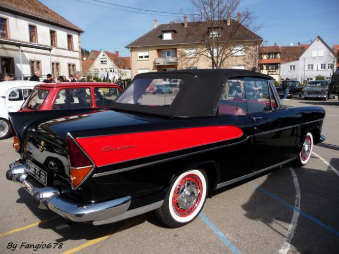 simca cars classic cars sedan french chambort convertible cabriolet wallpaper