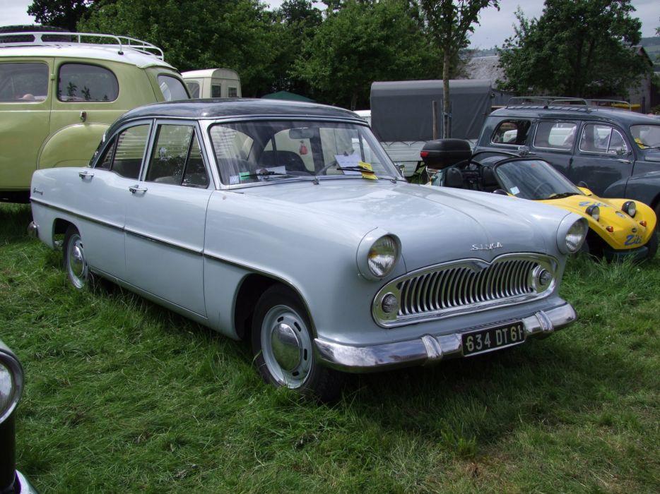 simca cars classic cars sedan french ariane wallpaper