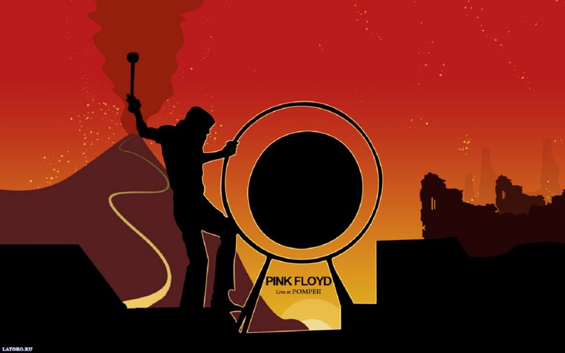 Pink Floyd Love at Pompeii wallpaper