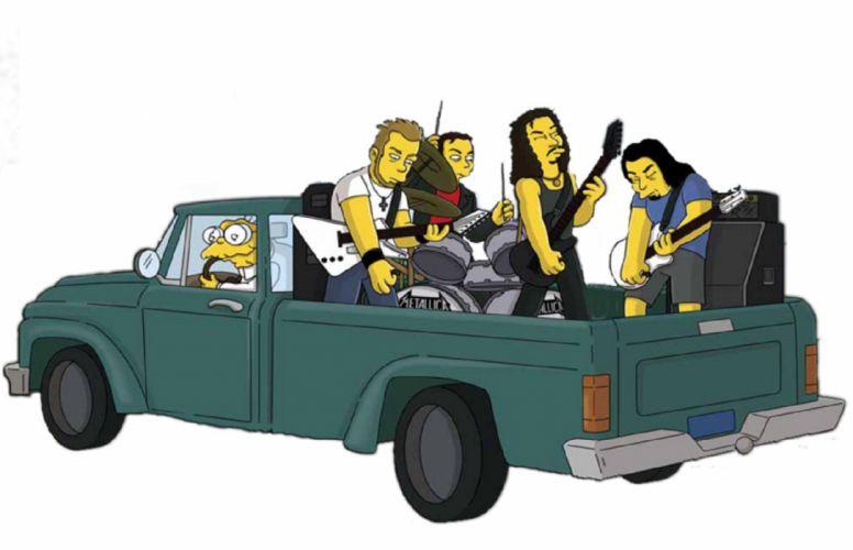 Metallica Simpson version wallpaper
